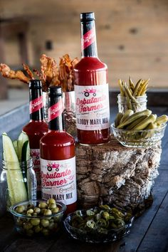 Debutante Farmer Bloody Mary Mix is a shop fav at about the south. Call 662.844.2689