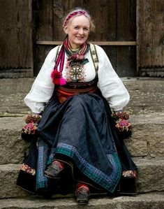 Folk Costume, Costumes, Norwegian Clothing, Traditional Dresses, Scandinavian, Culture, Fabric, Folklore, Slipper