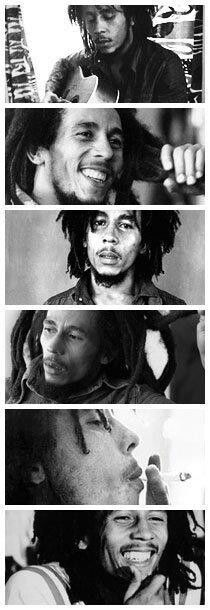 Bob Marley, OM (born Nesta Robert Marley), Jamaican singer-songwriter & musician, recipient of the Jamaican Order of Merit, and rhythm guitarist & lead singer for the ska, rocksteady & reggae bands The Wailers and Bob Marley & The Wailers. His music was influenced by the social issues of Jamaica, giving a voice to political and cultural issues. He remains the most widely known & revered performer of reggae, and helped spread Jamaican music and the Rastafarian movement worldwide. R.I.P.