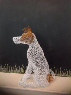 A new terrier sculpture