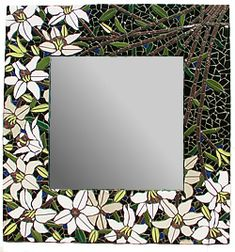 Forest Mosaic Gallery - artist Chiharu Rosenberg - this is her site and it has lots of her beautiful mosaic pieces.