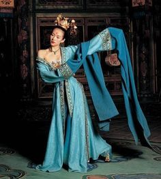 "Movie- House of Flying Daggers ""Beauty Dance""  (Modernized/modified Mid Tang Dynasty)"