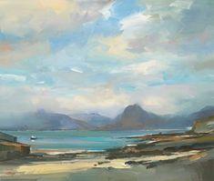 David Atkins, Morning Light at Elgol