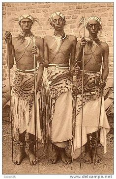 Young men of Rwanda