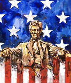 The very American art of Steve Penley Artist Painting, Painting & Drawing, Steve Penley, Flag Art, Native American Artists, American Flag, American Pride, Art Lessons, New Art