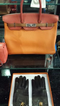 Classic x Handbag x Gloves