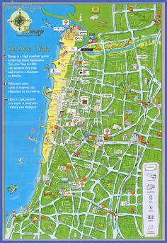 cool Tel Aviv Map