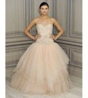 Monique Lhuillier Blush Ballerina Wedding Gown So In Love With The