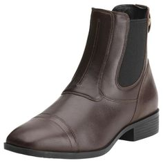 The Ariat Challenge Womens Square Toe Dress Paddock is available in Chocolate Brown £129.95