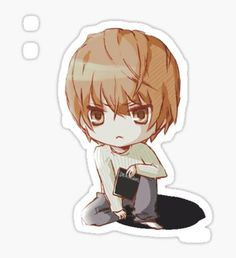 Death Note Stickers – Best Art images in 2019 Preppy Stickers, Cute Stickers, Kawaii Art, Kawaii Anime, Shinigami, Rick And Morty Stickers, Death Note Fanart, Cute Bear Drawings, Anime Base
