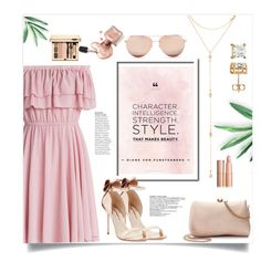 """""""Untitled #143"""" by missyhodgy ❤ liked on Polyvore featuring Chicwish, Sophia Webster, Linda Farrow, Fragments and LC Lauren Conrad"""