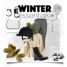 """""""Winter Outfit die horseback riding"""" by lijifhorse on Polyvore featuring Mode, nuLOOM, Frye und Quarry"""