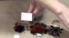 Tattered Foil Flower Make-It-Take-It at CHA 2014