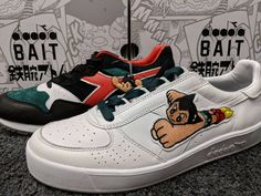Surprised I'm not seeing more love for my favorite sneakers of the season! Bait x Diadora x Astroboy