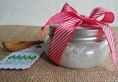 DIY Coconut-Salt Foot and Body Scrub!