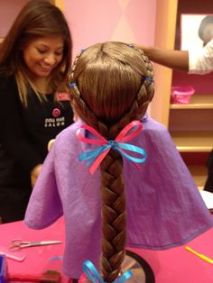 Awesome American Girl Doll Hairstyles With American Girl Doll Salon