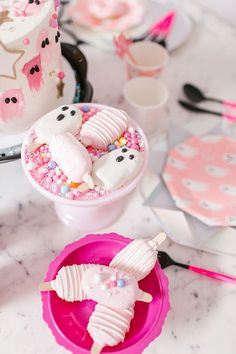blush pink pumpkin cake pops via laurenconrad.com