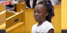 """ABDde 9 yaşındaki çocuktan """"ırkçılık dersi"""": ABDnin Kuzey Carolina eyaletinin Charlotte kentinde polisin açtığı ateş sonucu bir siyahi Amerikalının hayatını kaybetmesinin ardından kent meclisinde konuşan 9 yaşındaki siyahi kız çocuğu Zianna Oliphant dokunaklı ifadeleriyle ABDnin ve dünyanın dikkatini polis şiddeti ve ırkçılığa çekti.  #siyahi #kız #çocuğu #konuşan #Zianna"""