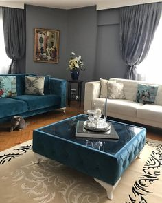 Living Room Sofa Design, Living Room Tv, Living Room Interior, Living Room Designs, Design Your Dream House, House Design, Childrens Curtains, Classy Living Room, Couch