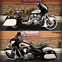 2014 Chieftain, custom chocolate and cream 2 tone'