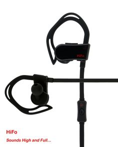 """HiFo Bluetooth Earphone - """"HeartBeat Sports 100"""" with Sports App, Heart Rate Monitor, Pedometer, Map/GPS Tracking, Noise Cancelation, Battery Status (Black). SPORTS APP - Sports App Provides Real-time Map and GPS Tracking, Serves as Pedometer, Stores and Synchs Your Offline Activities. HEARTRATE MONITORING - Built-in Biometric and G-Sensors Provide Heart Rate Monitoring and Pedometer through the Sports App. BATTERY STATUS, VIOCE PROMPT - Compatible with both iOS and Android devices, Music..."""