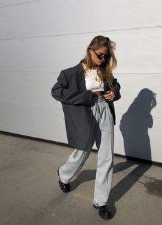 Mode Outfits, Fashion Outfits, Womens Fashion, Mode Dope, Look Blazer, Looks Style, Mode Style, Cute Casual Outfits, Look Fashion