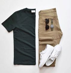 Men Casual T-Shirt Outfit 🖤 Very Attractive Casual Outfit Grid, Smart Casual Outfit, Stylish Mens Outfits, Casual Outfits, Men Casual, Casual Chic, Casual Ootd, Casual Styles, Dress Casual, Dress Outfits