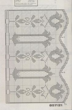 Crochet Curtain Pattern, Crochet Curtains, Curtain Patterns, Crochet Doilies, Filet Crochet, Tunisian Crochet, Knit Crochet, Weaving Patterns, Crochet Patterns