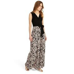 8f11b54bf7 Phase Eight Black  Rosie  print maxi dress