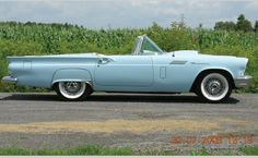 1957 Ford Thunderbird.