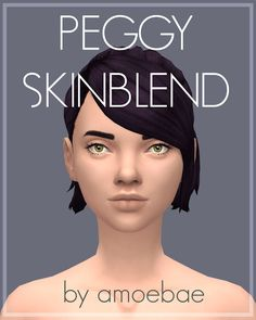Sims 4 CC's - The Best: Peggy Skinblend by Picture Amoebae