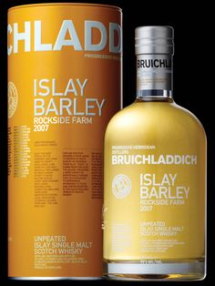 THE WILD WEST ATLANTIC FACING COAST GAVE BIRTH TO THIS THIRD RELEASE IN OUR UBER-PROVENANCE ISLAY BARLEY SERIES. Harvested in 2006 and distilled in 2007, the grain for this iconic whisky was grown for Bruichladdich in the Minister's Field at Rockside Farm by Mark and Rohaise French. We believe terroir matters. Distinctive, authentic and unique, this is land and dram united.