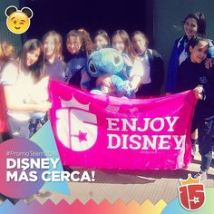 Se acerca #Disney para las chicas de #SanLuisGonzaga #Córdoba #2016 #promoTeam2016