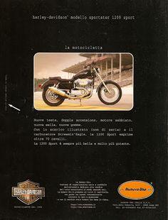 The Legend of HARLEY DAVIDSON SPORSTER: 1200 sport - 1997 Harley Davidson Engines, Harley Davidson Sportster 1200, Harley Davidson News, Biker T Shirts, Biker Style, Milwaukee, Image, Legends
