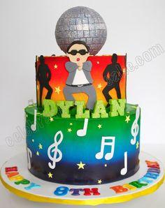 Celebrate with Cake!: Psy Gangnam Style Tier Cake