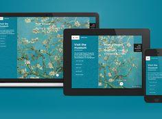 Van Gogh Museum Responsive Website