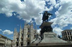Piazza del Duomo em Milano, Lombardia