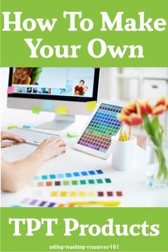 Learn how to make your own printables and lessons with these online classes. Sell your teacher created resources on Teachers Pay Teachers and earn a little extra cash. Teacher Hacks, Teacher Pay Teachers, Teacher Stuff, Powerpoint Lesson, Importance Of Time Management, Teacher Created Resources, Online Lessons, Tips Online, Online Jobs