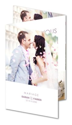 carte de remerciement mariage ptales de douceur caz 214 - Carte Remerciement Mariage Pas Cher
