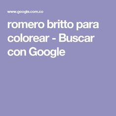 romero britto para colorear - Buscar con Google