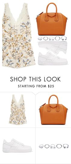 """Stylish in da Streets"" by kydajenner ❤ liked on Polyvore featuring STELLA McCARTNEY, Givenchy, NIKE, GUESS and StreetStyle"