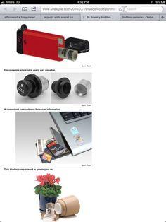 K Spy Tools, Pinhole Camera, Cool Stuff