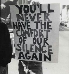 And that is the truth again in from an anti-Anita Bryant and Briggs Initiative protest, San Francisco, California, September Photo by Jimmy Mike. Lgbt History, Plakat Design, Protest Signs, Protest Posters, Protest Art, Trump Protest, Power To The People, Intersectional Feminism, Human Rights