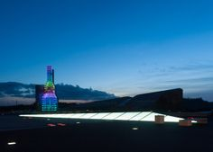 Iluminación das Torres Hejduk