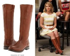 Frye Jenna Inside Zip Boots - $358.00 Worn with: Forever 21 dress Also worn in: 3x14 'On My Way' with Eva Franco dress, (later in the episode) with Milly dress, (even later in the episode) with...
