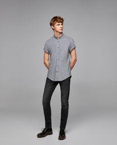 die besten 25 hemd stehkragen ideen auf pinterest hemd mit stehkragen kummerbund und kurz. Black Bedroom Furniture Sets. Home Design Ideas