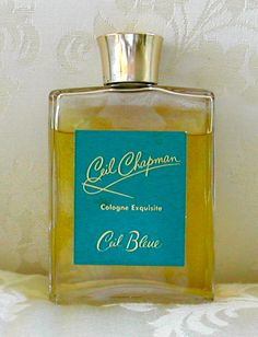 Vintage 'Ceil Bleue' Cologne Exquisite by Ceil Chapman. This has been on eBay for a while - only 99 cents! I have this exact bottle, and the scent is a gorgeous aldehydic floral.