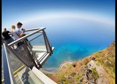 """Cabo Girão, in #Madeira island is one of the """"Insanely beautiful cliff views from around the world"""" according to the The Huffington Post 