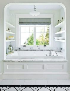 45 Decadent Tubs To Pin-spire You: http://intothegloss.com/2014/04/pretty-bathtub-ideas/