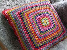 Cushion cover Harlequin, via Flickr.